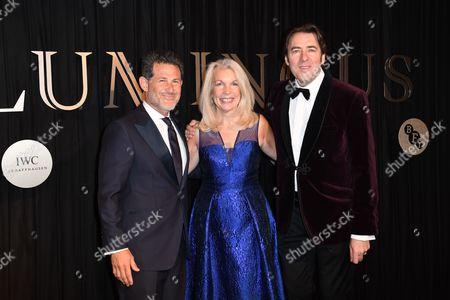 BFI Chair Josh Berger, BFI CEO Amanda Nevill and BFI Governor & Luminous Chair Jonathan Ross
