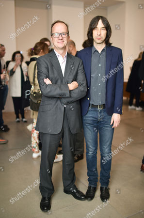 Graham Southern and Bobby Gillespie