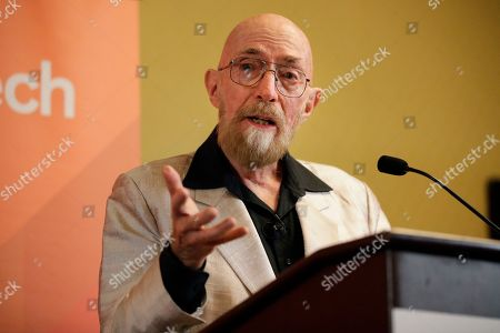 Scientist Kip Thorne, of the California Institute of Technology, speaks during a news conference, in Pasadena, Calif. Thorne is among three U.S.-based scientists who won the Nobel Physics Prize on Tuesday for detecting faint ripples flying through the universe, the gravitational waves predicted a century ago by Albert Einstein that provide a new understanding of the universe