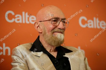 Scientist Kip Thorne, of the California Institute of Technology, attends a news conference, in Pasadena, Calif. Thorne won the Nobel Physics Prize on Tuesday for detecting faint ripples flying through the universe, the gravitational waves predicted a century ago by Albert Einstein that provide a new understanding of the universe