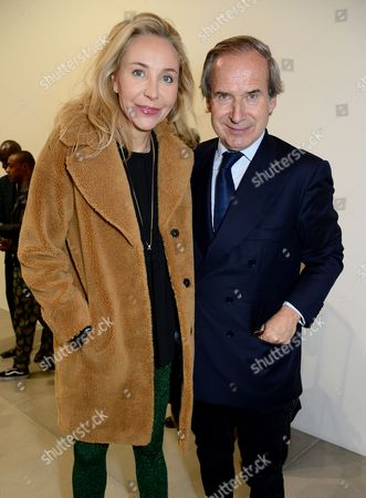 Michaela Neumeister and Simon de Pury