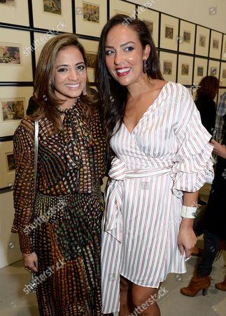Katy Wickremesinghe and Princess Alia Al-Senussi