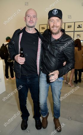 Jake Chapman and Rhys Ifans
