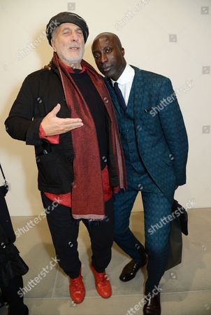 Ron Arad and Ozwald Boateng