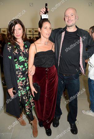 Ronni Ancona, Rosemary Ferguson and Jake Chapman