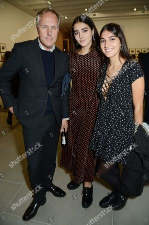 Stock Picture of Simon Mills, Lauren Mills and Maddie Mills