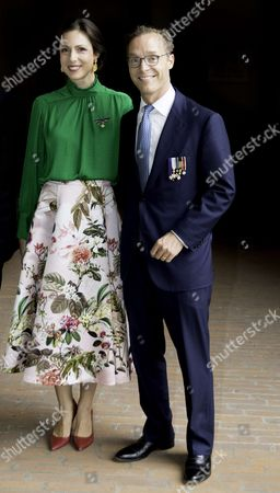 Prince Jaime of Bourbon-Parma, Count of Bardi and Princess Viktoria de Bourbon de Parme