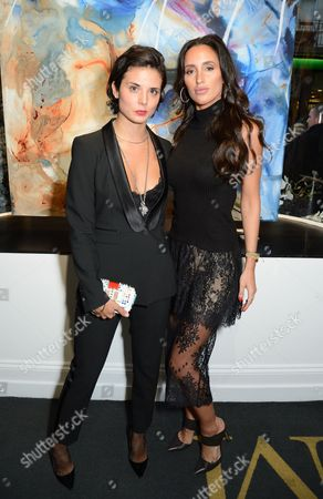 Stefania Arrivabene and Lily Fortescue
