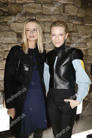 Delphine Arnault and Cate Blanchett
