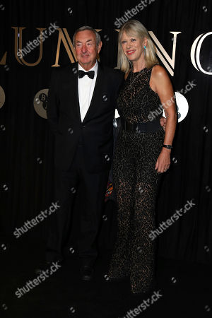 Nick Mason, Annette Mason. Musician Nick Mason and wife Annette Mason pose for photographers on arrival at the 'BFI Luminous' fundraising gala held by The British Film Institute, in London