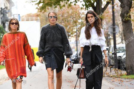 Carola Bernard, Carlotta Oddi, Chiara Totire