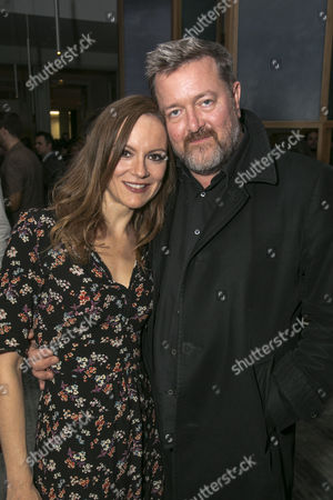 Stock Picture of Rachael Stirling (Elizabeth Lyons) and Guy Garvey