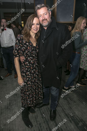 Stock Image of Rachael Stirling (Elizabeth Lyons) and Guy Garvey