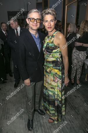 Martin Freeman (David Lyons) and Tamsin Greig (Jean Whittaker)