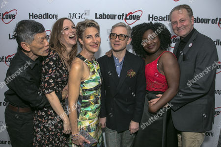 Editorial photo of 'Labour of Love' play press night, After Party, London, UK - 03 Oct 2017