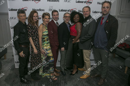Editorial picture of 'Labour of Love' play press night, After Party, London, UK - 03 Oct 2017