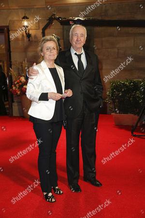 Armin Mueller-Stahl and Frau Gabriele Scholz
