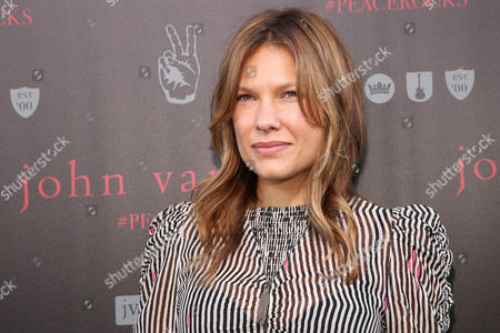 Kiele Sanchez arrives at the celebration for The International Day Of Peace With John Varvatos And Ringo Starr on in West Hollywood, Calif