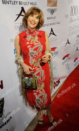 """Barbi Benton poses at the Beverly Hills Chamber of Commerce's """"EXPERIENCE - EastMeetsWest"""" event, in Beverly Hills, Calif"""