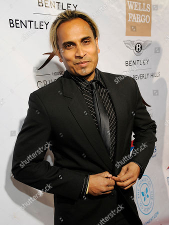 "Reggie Benjamin poses at the Beverly Hills Chamber of Commerce's ""EXPERIENCE - EastMeetsWest"" event, in Beverly Hills, Calif"