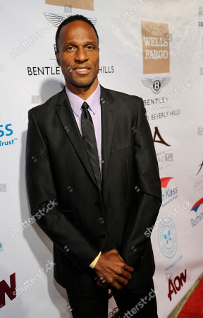 "Willie Gault poses at the Beverly Hills Chamber of Commerce's ""EXPERIENCE - EastMeetsWest"" event, in Beverly Hills, Calif"
