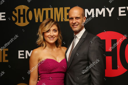 Sasha Alexander and Edoardo Ponti seen at Showtime's Emmy Eve at the Sunset Tower, in Los Angeles