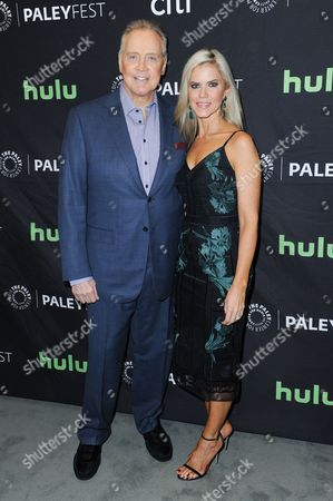 """Lee Majors and Faith Majors attend the """"Ash vs Evil Dead"""" screening and panel discussion at the 2016 PaleyFest Fall TV Previews, in Beverly Hills, Calif"""