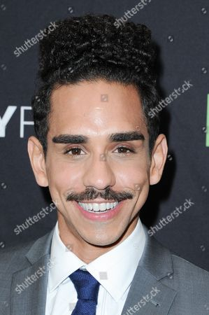 """Ray Santiago attends the """"Ash vs Evil Dead"""" screening and panel discussion at the 2016 PaleyFest Fall TV Previews, in Beverly Hills, Calif"""