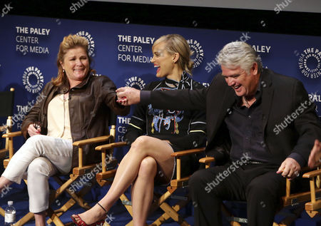 """Kate Mulgrew, Taylor Schilling and Michael Harney seen at PaleyLive LA Event with Netflix's """"Orange is the New Black"""", in Beverly Hills, Calif"""