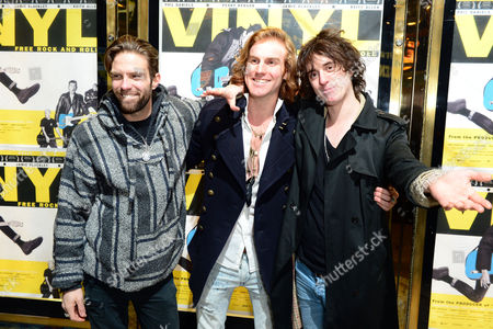 Miguel Demelo, Johnny Lloyd at the UK Gala Screening of Vinyl at the Empire Leicester Square in London on