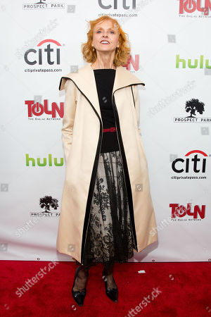 Stock Picture of Jill Larson attends the premiere of All My Children And One Life to Live on in New York
