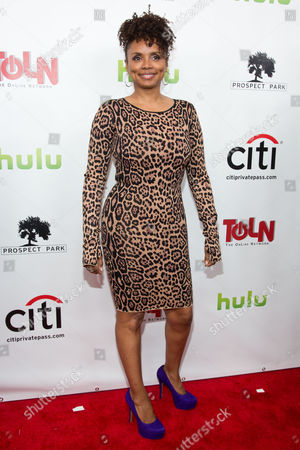 Debbi Morgan attends the premiere of All My Children And One Life to Live on in New York