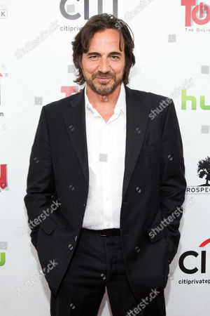 Thorsten Kaye attends the premiere of All My Children And One Life to Live on in New York