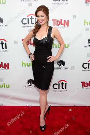 Melissa Archer attends the premiere of All My Children And One Life to Live on in New York