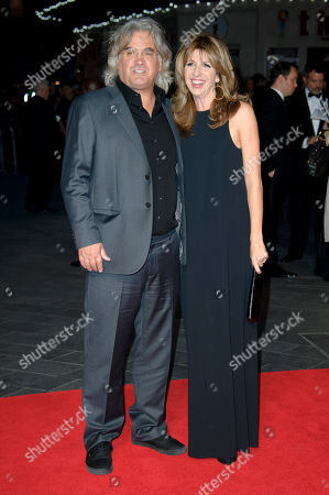 Paul Greengrass and Joanna Greengrass arrive for the BFI London Film Festival European Premiere of Captain Phillips, at a central London cinema