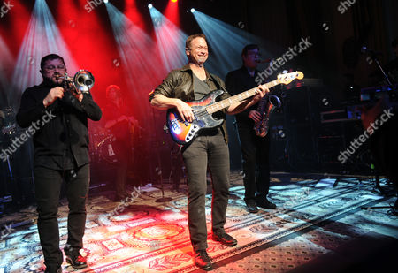 Editorial image of Charity Concert with LT. Dan Band, New York, USA