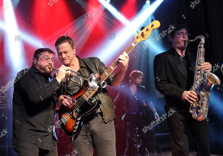 Editorial photo of Charity Concert with LT. Dan Band, New York, USA