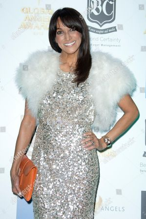 Jackie St Claire arrives at the the 2013 Global Angel Awards at the Camden Roundhouse in north London