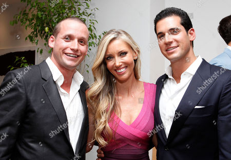 Oren Alexander, Melanie Lazenby and Tal Alexander speak at a panel at the Rockstars of Real Estate Event hosted by Editor-in-Chief of DETAILS Magazine Dan Peres on in New York