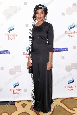 "Jaha Dukureh attends the 3rd Annual ""Make Equality Reality"" Gala at the Montage Hotel, in Beverly Hills, Calif"