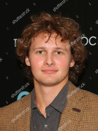 """Warren Elgort attends a special screening of """"Carol"""", hosted by Town & Country and The Cinema Society, at Florence Gould Hall, in New York"""