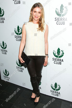 """Tristine Skyler attends Sierra Clubâ?™s """"Act in Paris"""", a night of comedy and climate action, at The Heath at The McKittrick Hotel, in New York"""