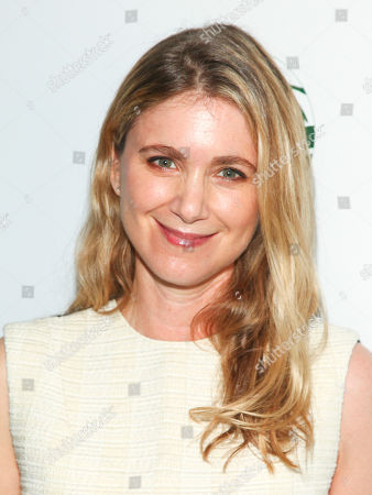 """Tristine Skyler attends Sierra Club's """"Act in Paris"""", a night of comedy and climate action, at The Heath at The McKittrick Hotel, in New York"""