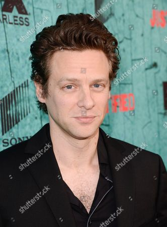 """Stock Image of Actor Jacob Pitts attends the screening for the television series finale of FX's """"Justified"""" in Los Angeles on"""