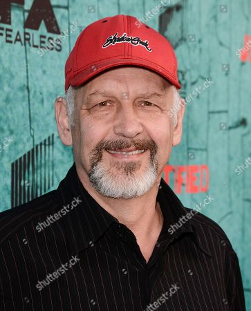 """Actors Nick Searcy attends the screening for the television series finale of FX's """"Justified"""" in Los Angeles on"""