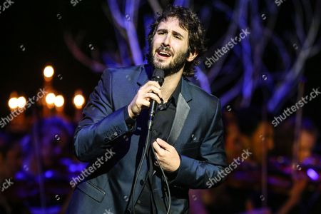 "Josh Groban performs at the Dolby Theatre in Los Angeles. Groban will be making his Broadway debut next year as Pierre in ""Natasha, Pierre & the Great Comet of 1812,"" a musical by Dave Malloy that dramatizes a 70-page melodrama at the center of ""War and Peace"