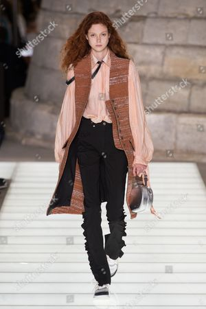 Stock Picture of Natalie Westling on the catwalk