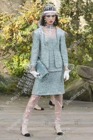 Stock Image of McKenna Hellam on the catwalk