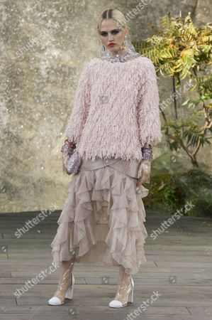 Editorial image of Chanel show, Runway, Spring Summer 2018, Paris Fashion Week, France - 03 Oct 2017