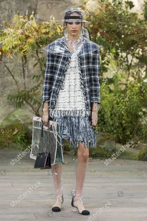 Editorial photo of Chanel show, Runway, Spring Summer 2018, Paris Fashion Week, France - 03 Oct 2017